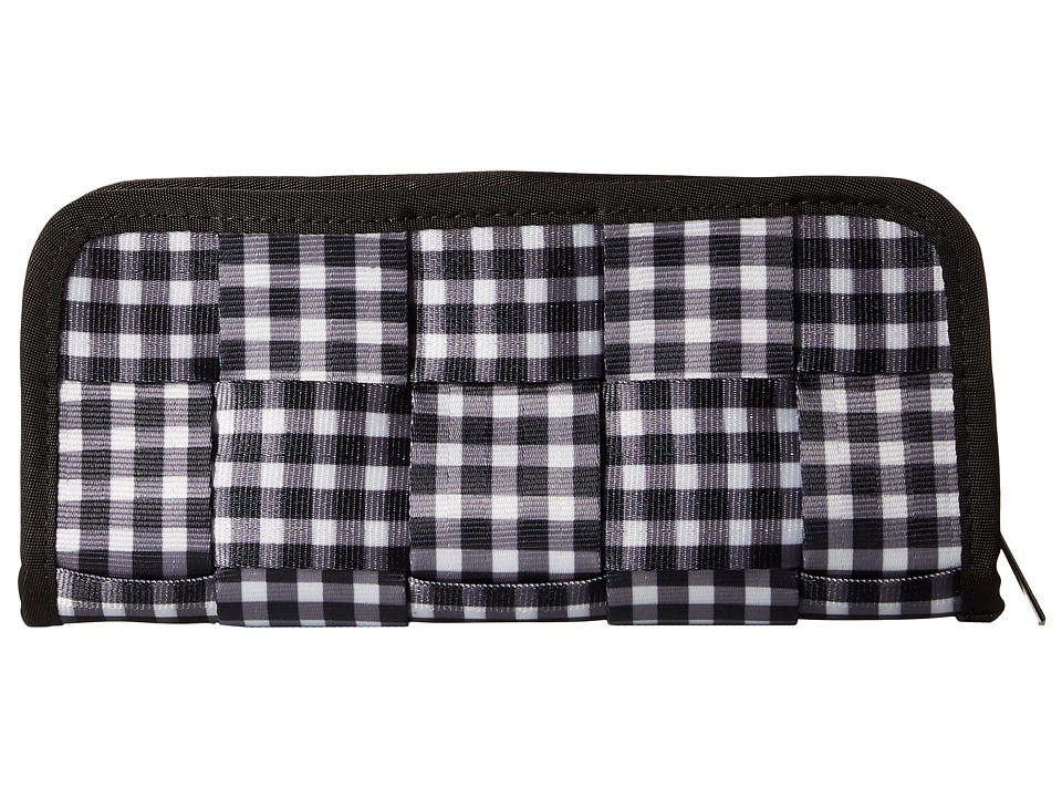Harveys Seatbelt Bag - Clutch Wallet (Gingham) Checkbook Wallet