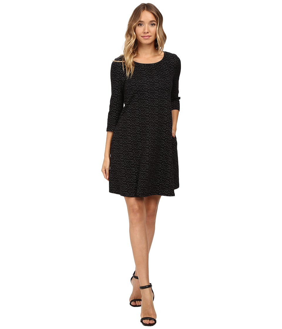 Tart Kate Dress (Black Space Dye Speckle) Women
