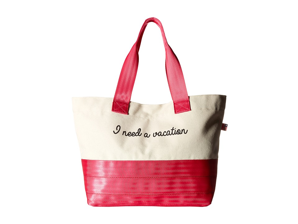 Harveys Seatbelt Bag - Beach Tote (I Need A Vacation) Tote Handbags