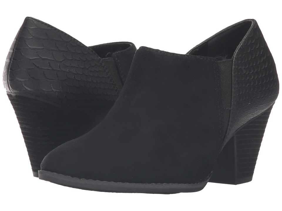 Dr. Scholl's - Charlie (Black Microsuede) Women's Shoes