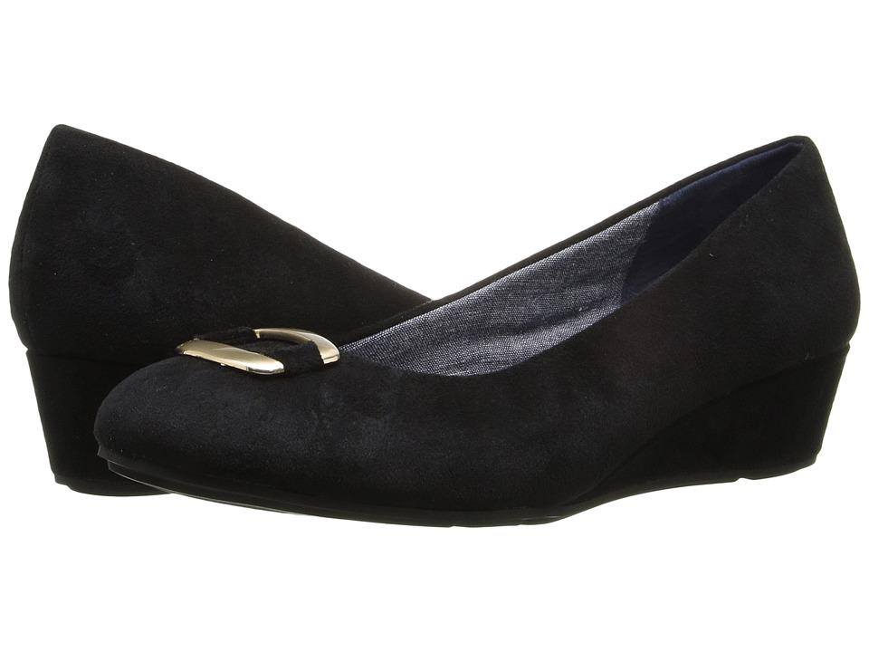 Dr. Scholl's - Vivien (Black Microsuede) Women's Shoes
