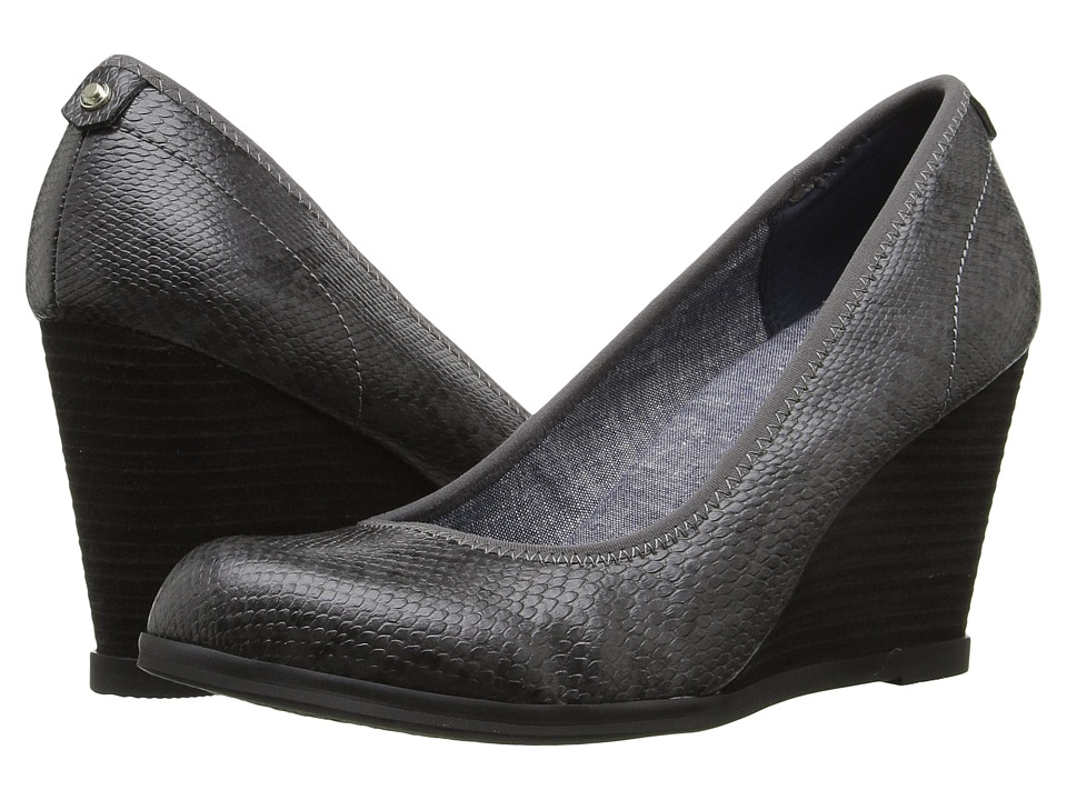 Dr. Scholl's - Penelope (Dark Grey Snake) Women's Shoes