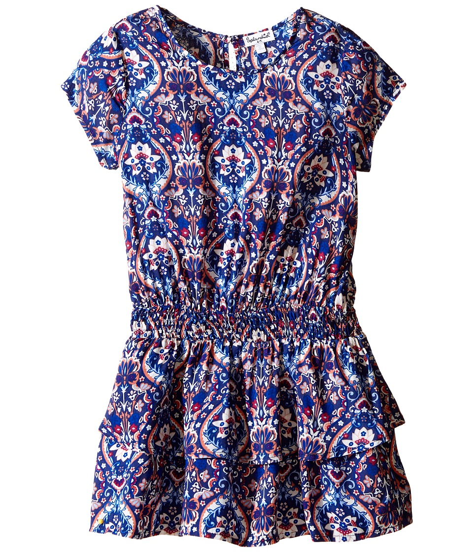 Splendid Littles - Printed Drop Waist Dress (Toddler) (Print) Girl's Dress