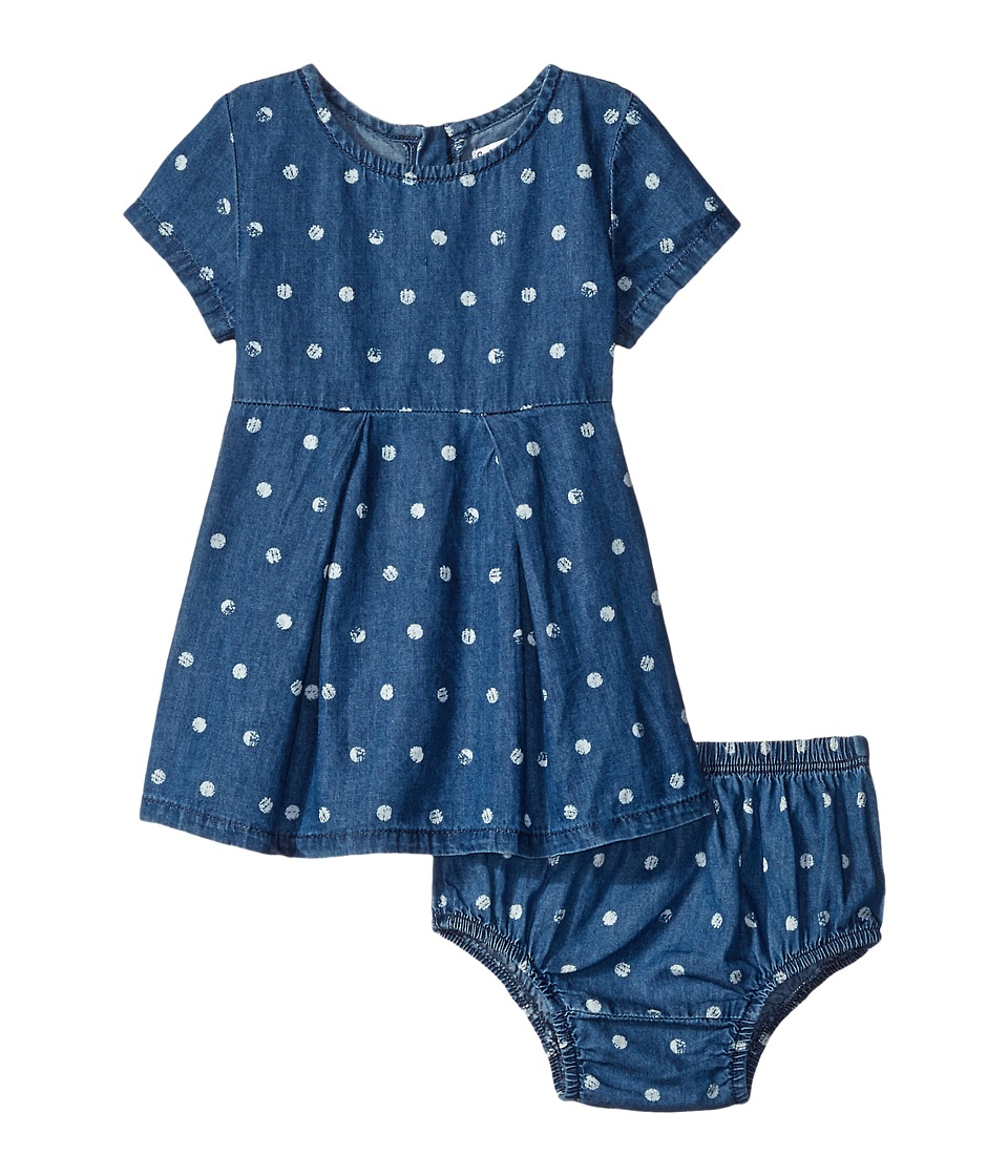Splendid Littles - Printed Dot Dress (Infant) (Print) Girl's Dress