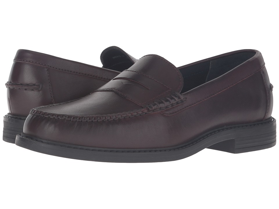 Cole Haan - Pinch Campus Penny (Cordovan/Fudge Toledo) Men's Slip-on Dress Shoes
