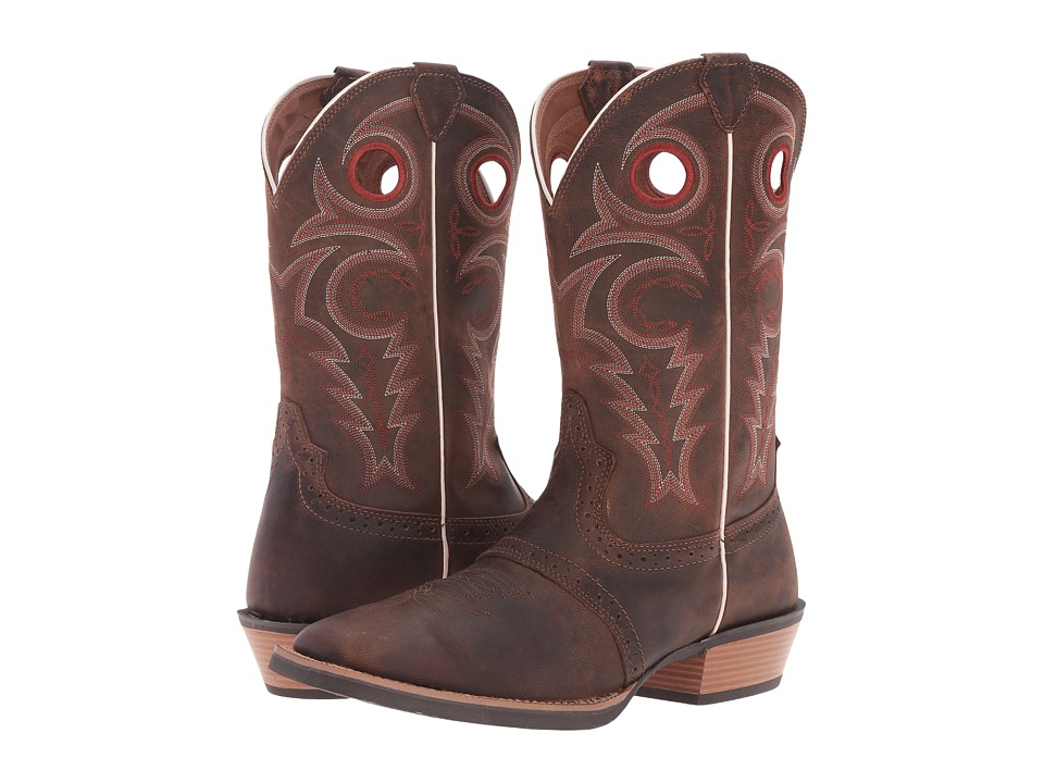 Justin - SV2537 (Light Coffee) Cowboy Boots