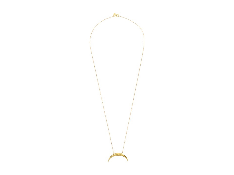 gorjana - Cayne Pendant Necklace (Gold) Necklace