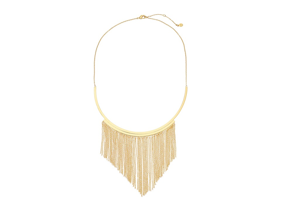 gorjana - Meg Collar Necklace (Gold) Necklace