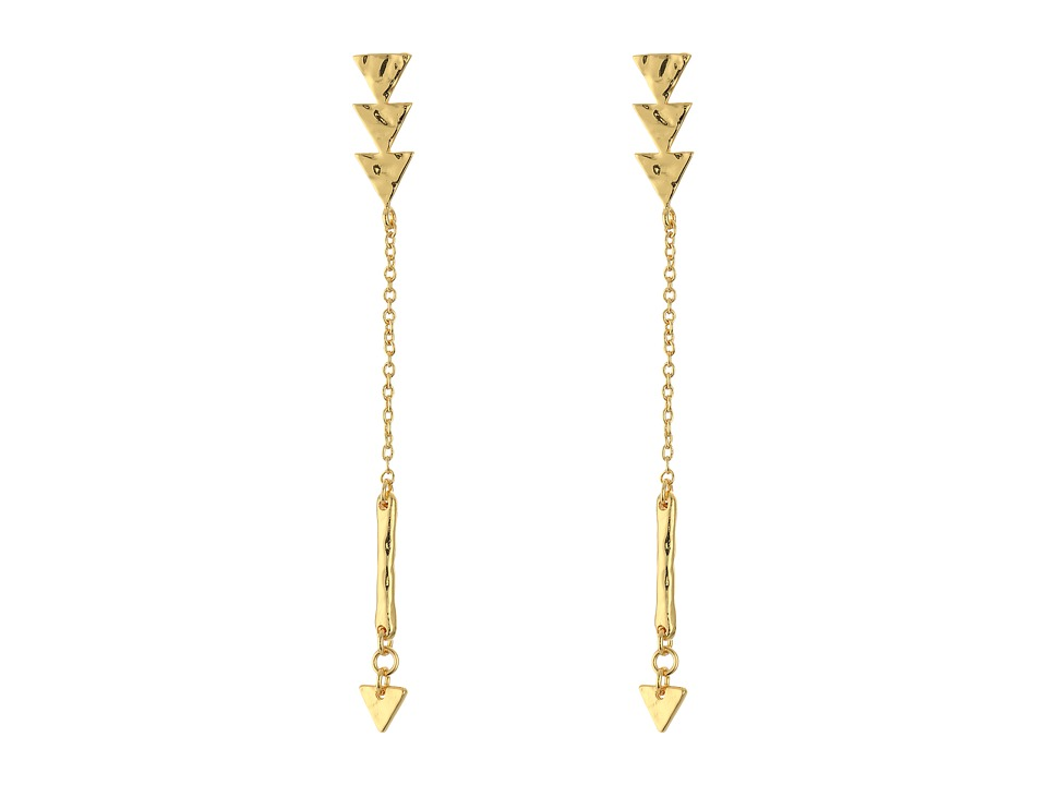 gorjana - Arden Earrings (Gold) Earring
