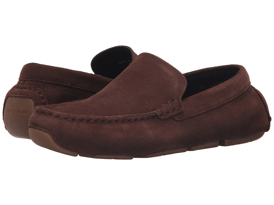 Cole Haan - Kelson Venetian (Chestnut Suede) Men's Shoes