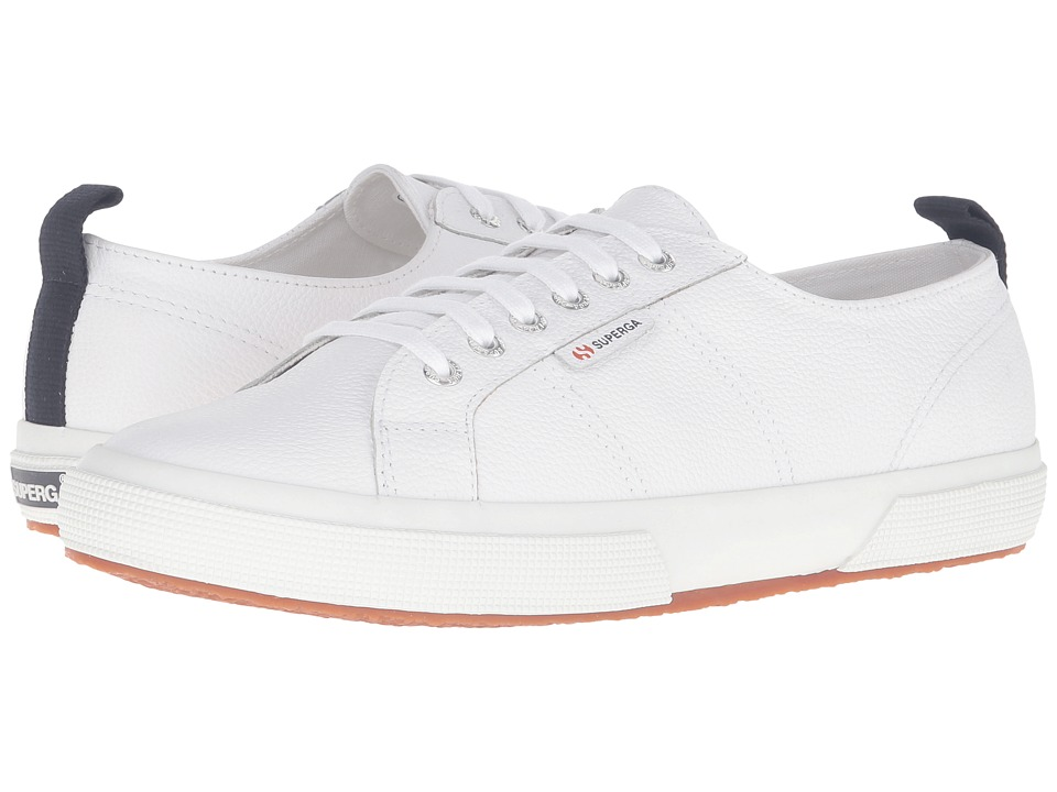 Superga - 2750 FGLU (White) Men's Lace up casual Shoes