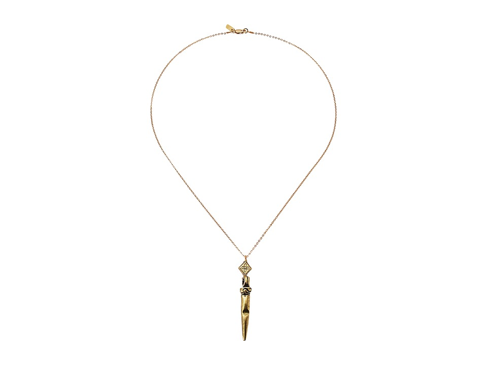 Vanessa Mooney - The Shotgun Necklace (Gold) Necklace