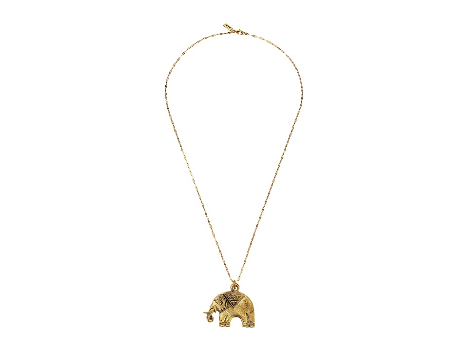 Vanessa Mooney - The Elephant Necklace (Gold) Necklace