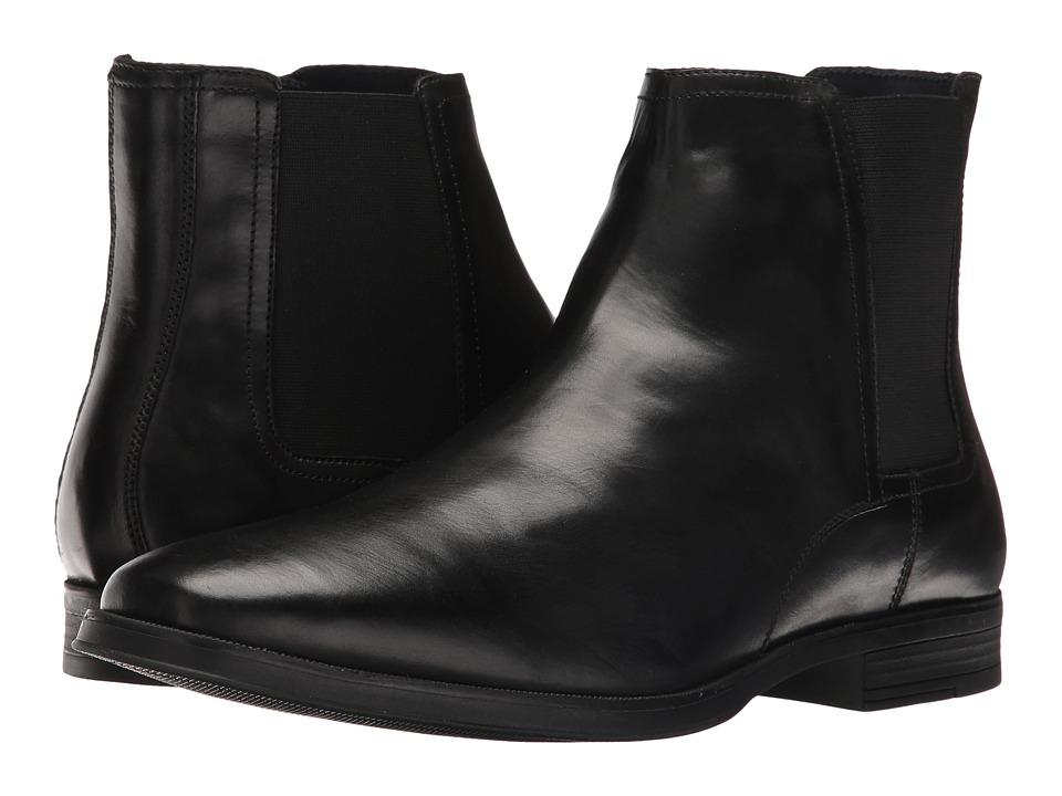 Cole Haan - Montgomery Zip Chelsea (Black) Men's Boots