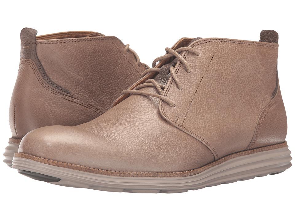 Cole Haan Original Grand Chukka (Desert Taupe Leather/Cobblestone) Men