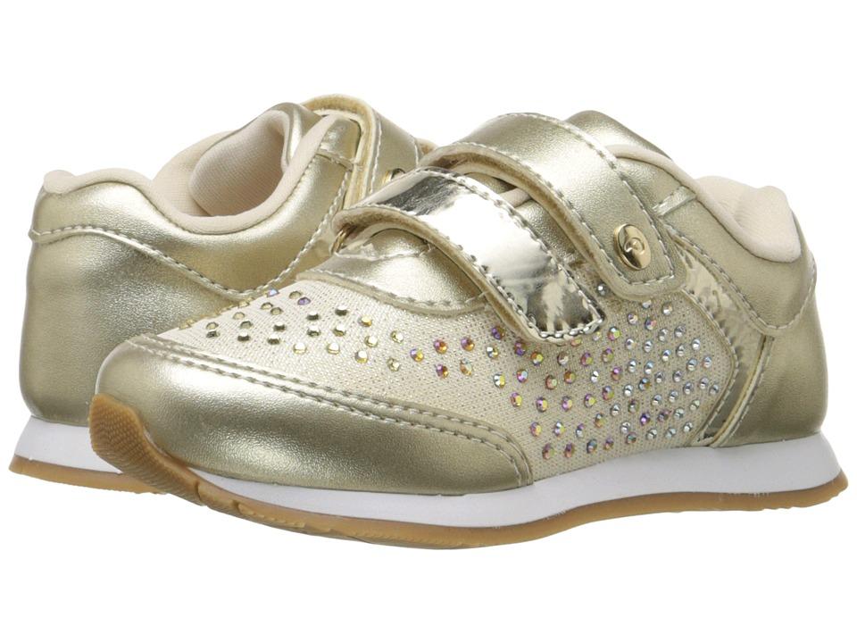 Pampili - Joy 106.037 (Toddler/Little Kid/Big Kid) (Gold) Girl's Shoes