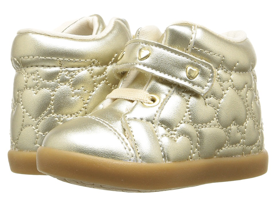 Pampili - Pom Pom 108.026 (Infant/Toddler) (Gold) Girl's Shoes