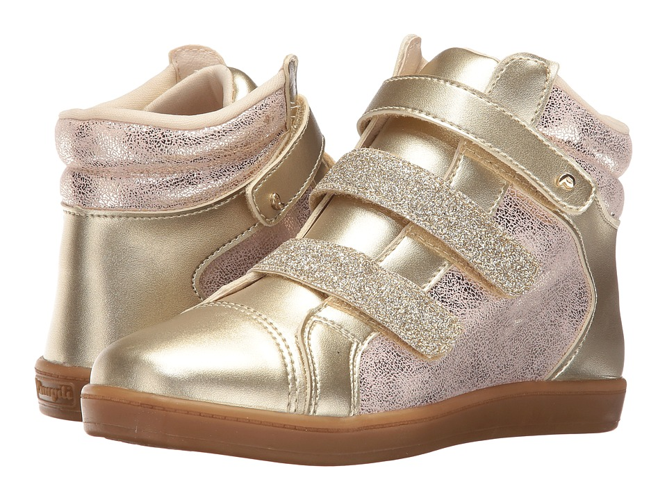 Pampili - Miss 117.020 (Little Kid/Big Kid) (Gold) Girl's Shoes
