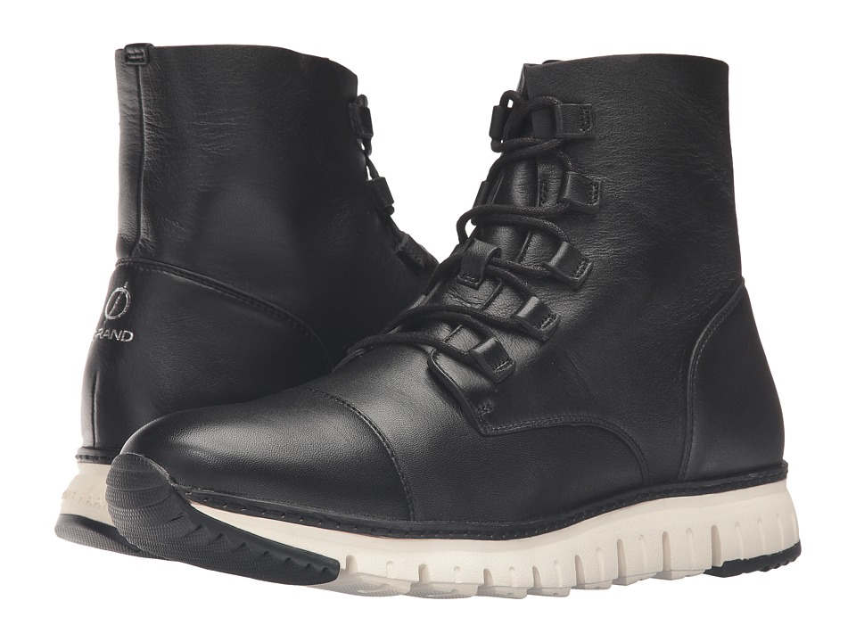 Cole Haan Zerogrand Cap Toe Boot (Black) Men