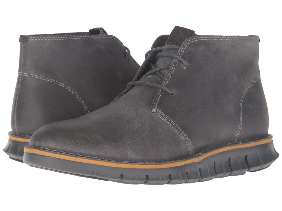Cole Haan - Zerogrand Stitchout Chukka (Ironstone Leather/Magnet) Men's Boots