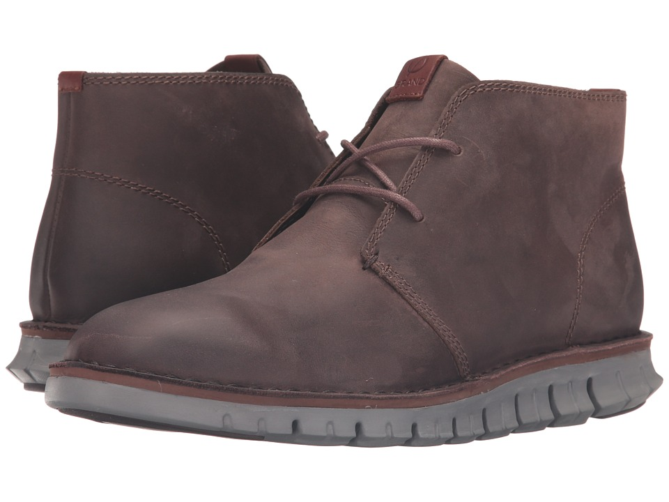 Cole Haan Zerogrand Stitchout Chukka (Chestnut Leather/Ironstone) Men