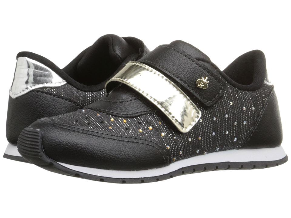 Pampili - Mini Joy 135.001 (Infant/Toddler) (Black) Girl's Shoes