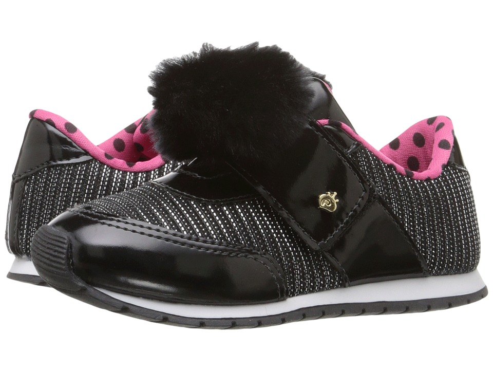 Pampili - Mini Joy 135.002 (Infant/Toddler) (Black) Girl's Shoes