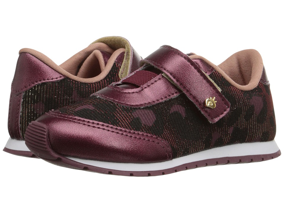 Pampili - Mini Joy 135.005 (Infant/Toddler) (Cherry) Girl's Shoes