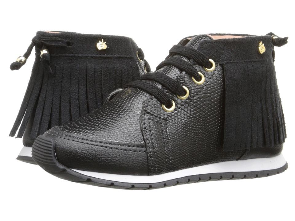 Pampili - Mini Joy 135.007 (Infant/Toddler) (Black) Girl's Shoes