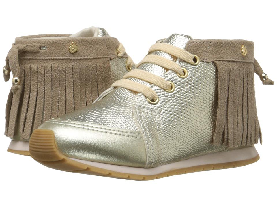 Pampili - Mini Joy 135.007 (Infant/Toddler) (Gold) Girl's Shoes