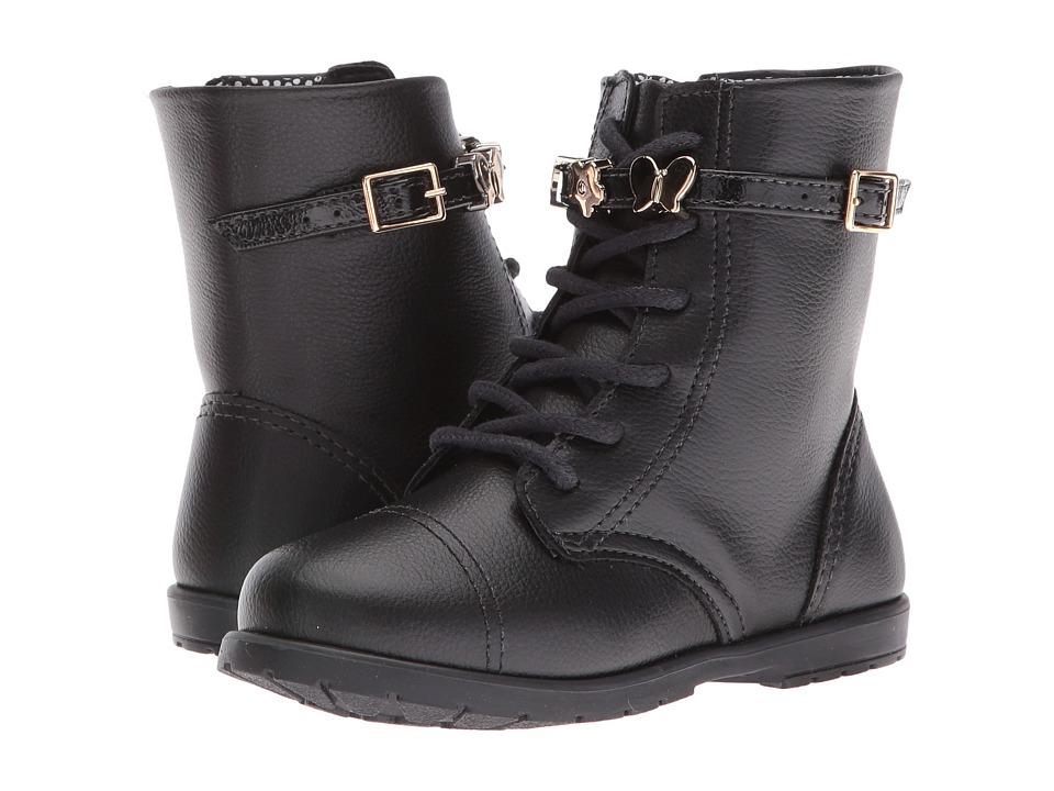 Pampili - Rubi 141.001 (Toddler/Little Kid) (Black) Girl's Shoes