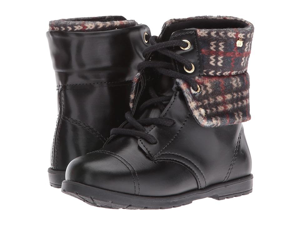 Pampili - Rubi 141.004 (Toddler/Little Kid) (Black) Girl's Shoes