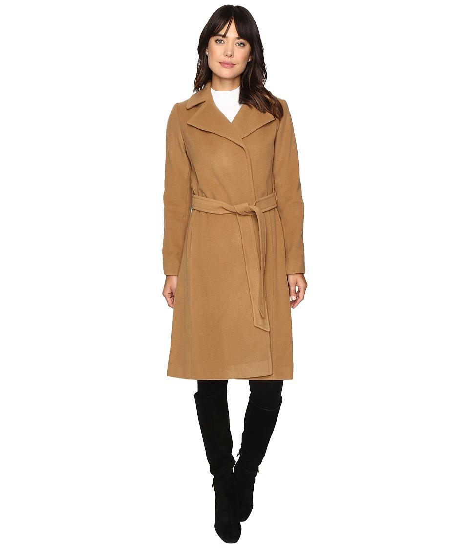 LAUREN Ralph Lauren - Wrap Coat (Vicuna) Women's Coat