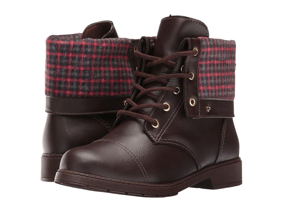 Pampili - Biker 207.027 (Little Kid/Big Kid) (Brown) Girl's Shoes