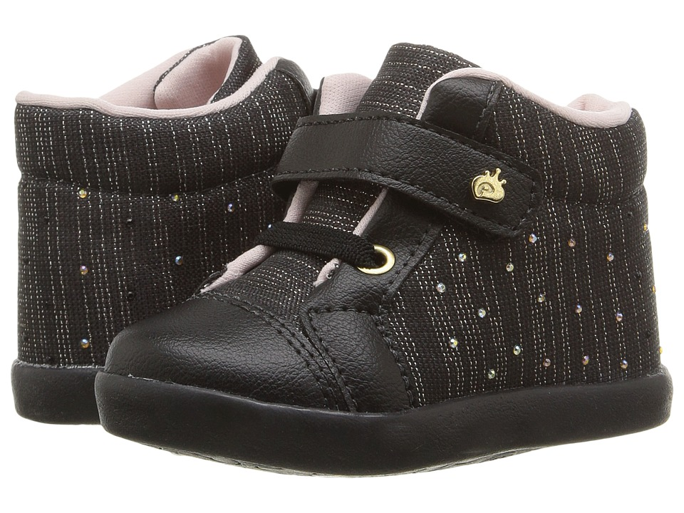 Pampili - Pom Pom 108.028 (Infant/Toddler) (Black) Girl's Shoes