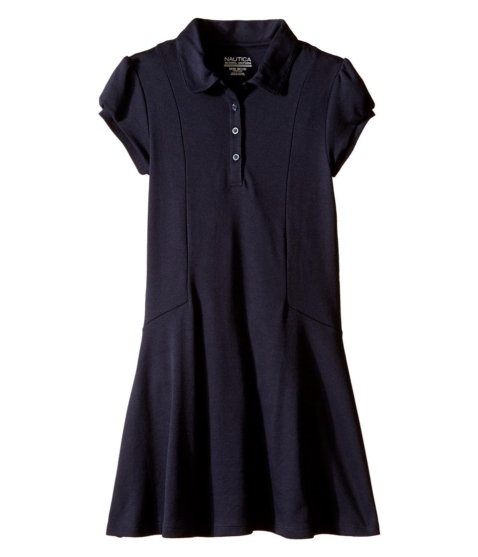 Nautica Kids - Polo Dress (Big Kids) (Su Navy) Girl's Dress
