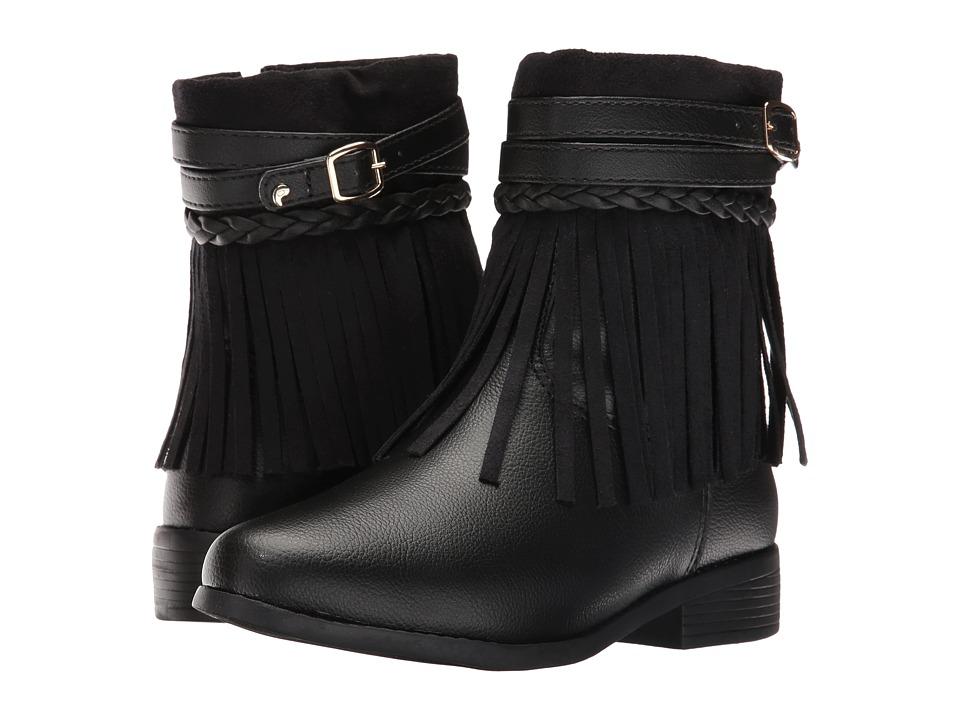 Pampili - Safira 279.034 (Little Kid/Big Kid) (Black) Girl's Shoes