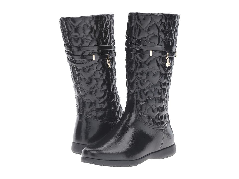 Pampili - Forura 308.028 (Toddler/Little Kid/Big Kid) (Black) Girl's Shoes