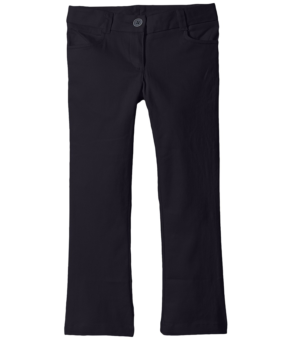Nautica Kids - Bootcut Twill Pants (Little Kids) (Su Navy) Girl's Casual Pants