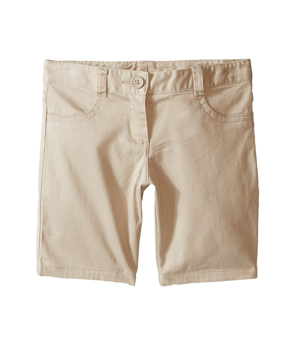 Nautica Kids - Five-Pocket Shorts (Little Kids) (Su Khaki) Girl's Shorts