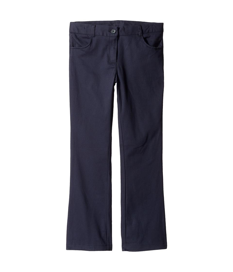 Nautica Kids - Bootcut Twill Pants (Big Kids) (Su Navy) Girl's Casual Pants