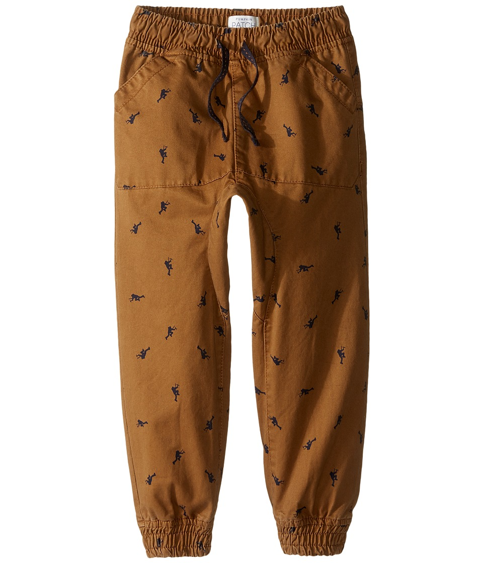 Pumpkin Patch Kids - Printed Chino (Infant/Toddler/Little Kids) (Toasted Coconut) Boy's Casual Pants