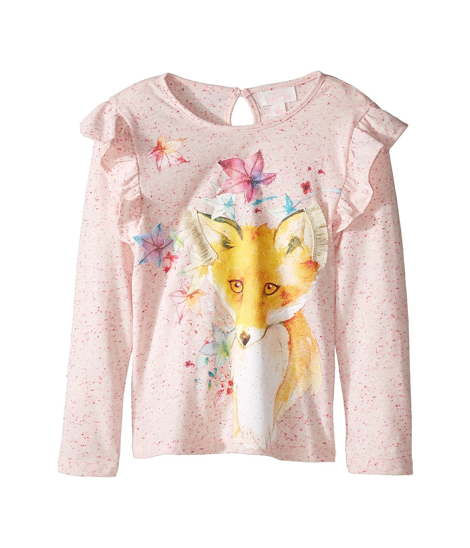Pumpkin Patch Kids - Fox Print Top (Infant/Toddler/Little Kids/Big Kids) (French Vanilla) Girl's Clothing