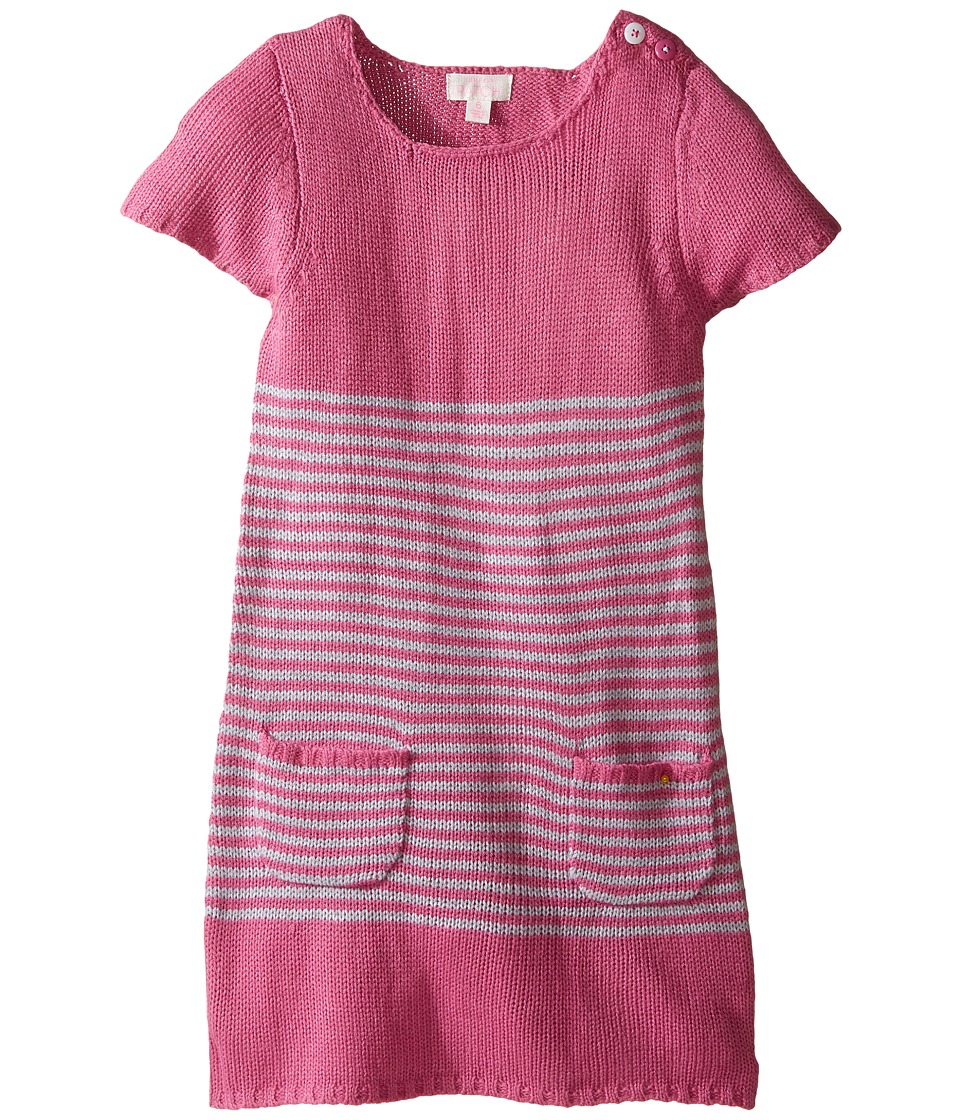 Pumpkin Patch Kids - Stripe Knit Tunic (Infant/Toddler/Little Kids/Big Kids) (Chateau Rose) Girl's Clothing