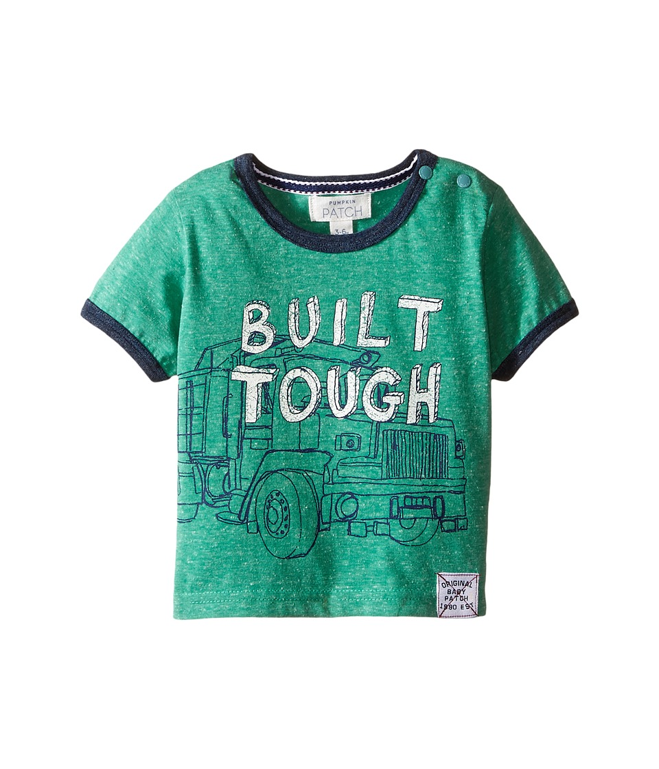 Pumpkin Patch Kids - Built Tough Tee (Infant) (Canton Green) Boy's T Shirt