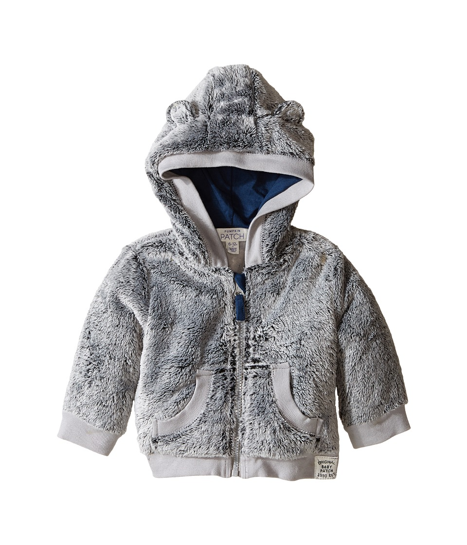 Pumpkin Patch Kids - Textured Jacket (Infant) (Athletic Marle) Boy's Coat