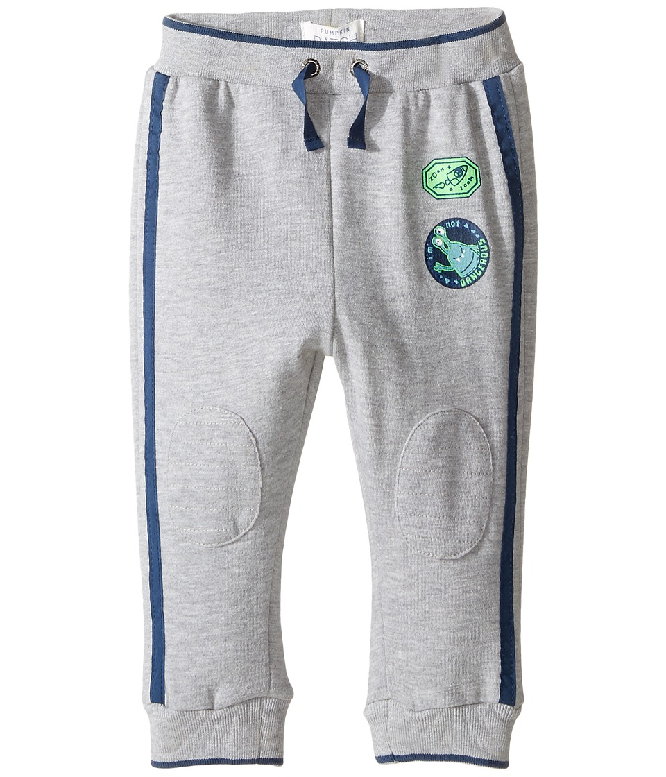 Pumpkin Patch Kids - Knee Patch Jogger (Infant) (Athletic Marle) Boy's Casual Pants