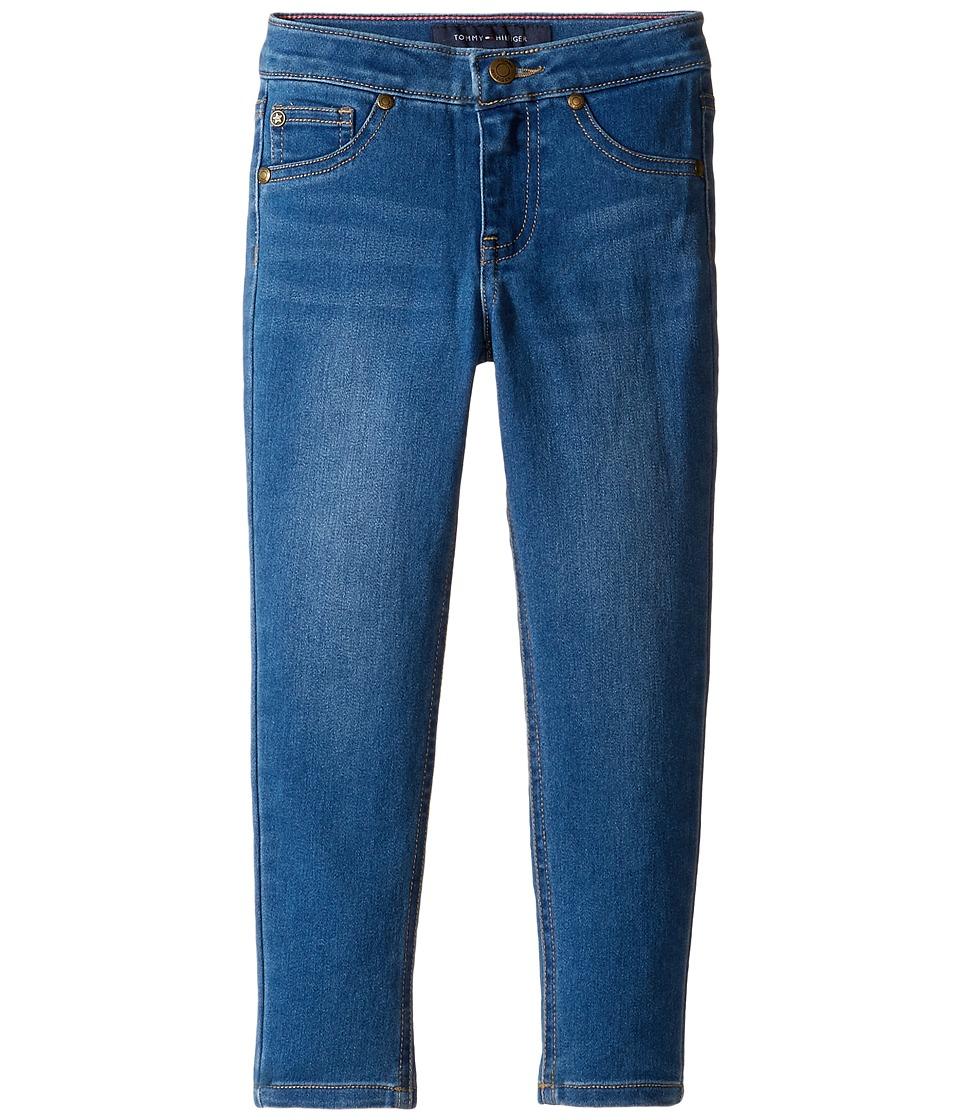 Tommy Hilfiger Kids - Five-Pocket Jeggings in Medium Blue (Toddler) (Medium Blue) Girl's Jeans
