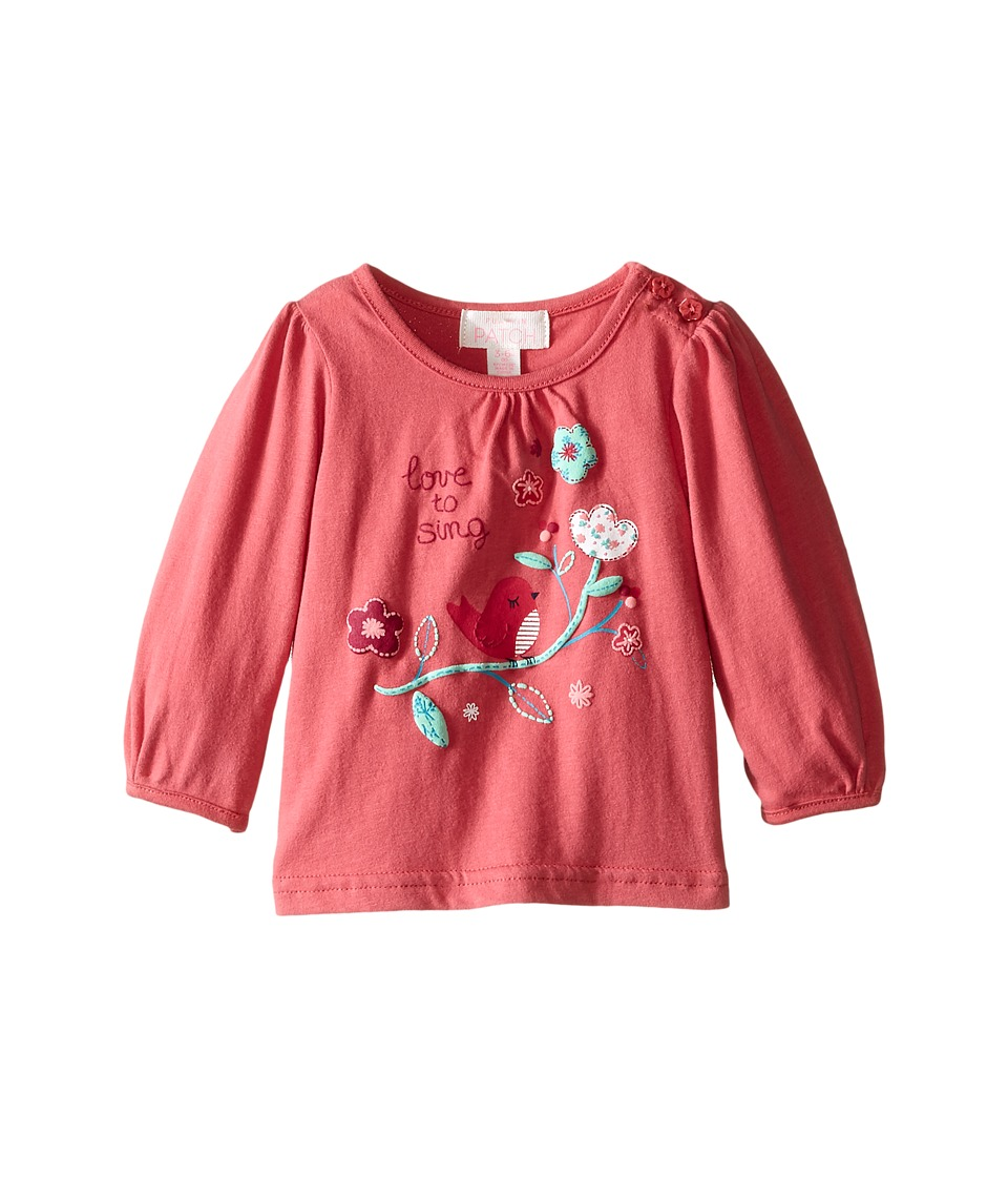 Pumpkin Patch Kids - Love To Sing Top (Infant) (Rapture Rose) Girl's Clothing