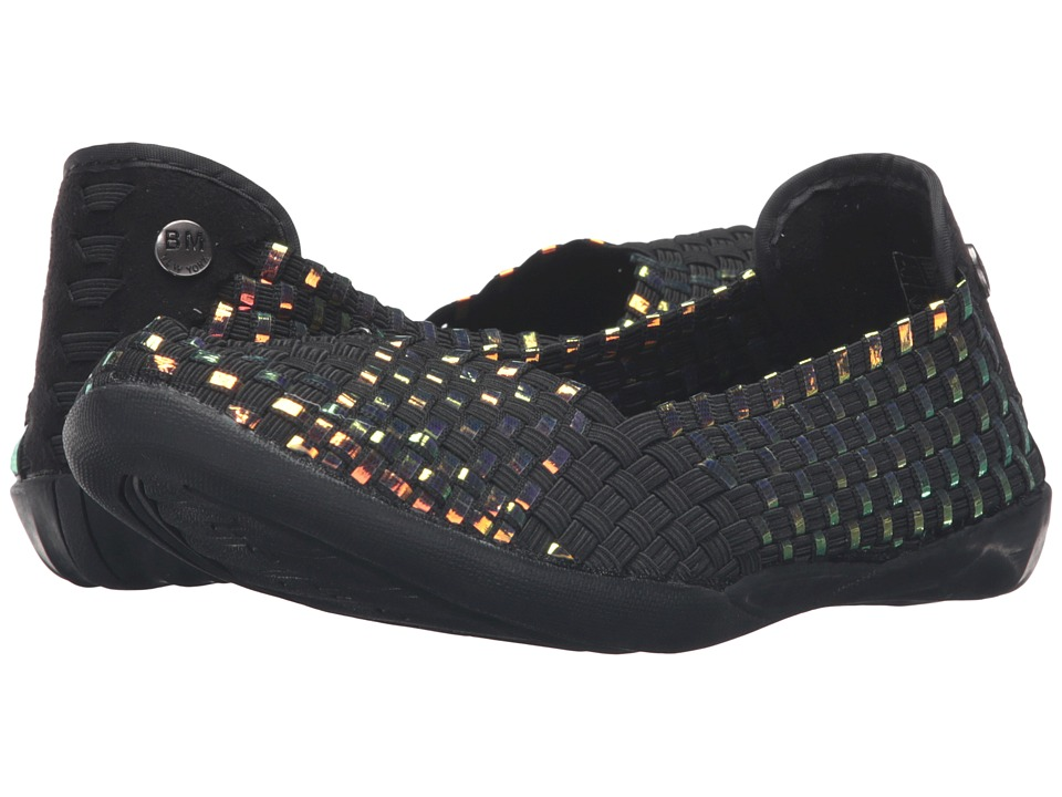 bernie mev. - Catwalk (Black/Plasma) Women's Slip on Shoes